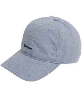 Men's Barbour Chambray Cascade Cap - Chambray Blue