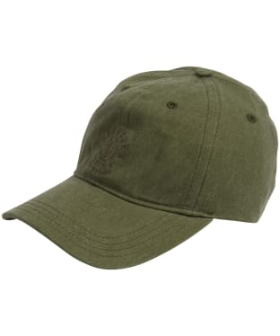 Men's Barbour Nautical Washed Cap - Burnt Olive