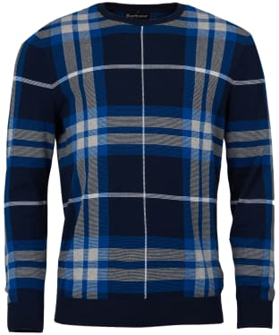 Men's Barbour Newark Crew Sweater - Midnight Blue