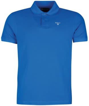 Men's Barbour Sports Polo 215G - Sport Blue