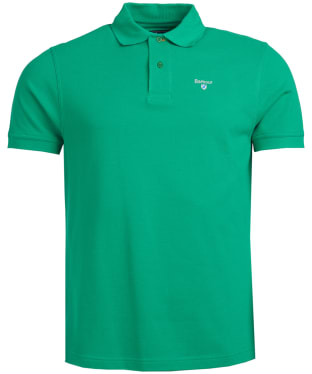 Men's Barbour Sports Polo 215G - Bright Green