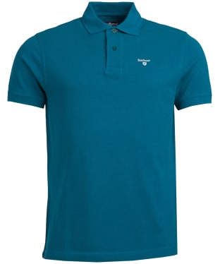 Men's Barbour Sports Polo 215G - Spruce