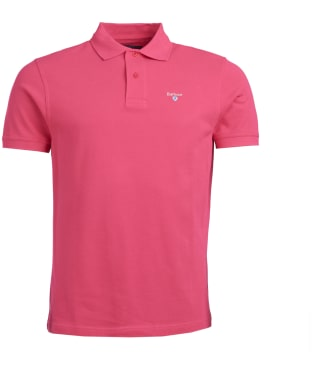 Men's Barbour Sports Polo 215G - Sorbet