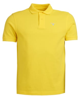 Men's Barbour Sports Polo 215G - Empire Yellow