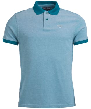 Men's Barbour Sports Polo Mix Shirt - Spruce