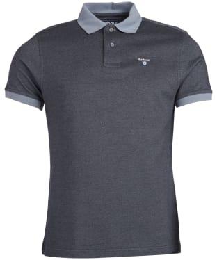 Men's Barbour Sports Polo Mix Shirt - Flint