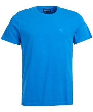 Men's Barbour Garment Dyed Tee - Sport Blue