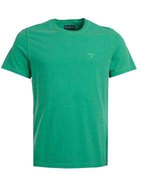 Men's Barbour Garment Dyed Tee - Bright Green