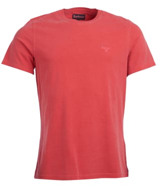 Men's Barbour Garment Dyed Tee - Risk Red