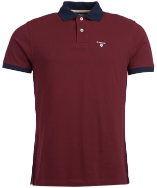 Men's Barbour Lynton Polo - Ruby