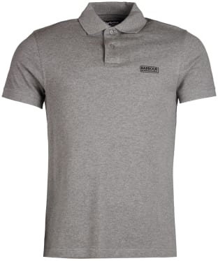 Men's Barbour International Essential Polo - Anthracite