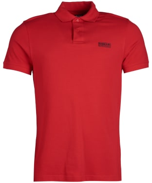 Men's Barbour International Essential Polo - Vibrant Red