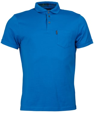 Men's Barbour Brandreth Polo Shirt - Sport Blue