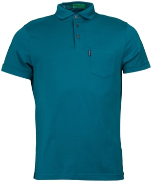 Men's Barbour Brandreth Polo Shirt - Spruce
