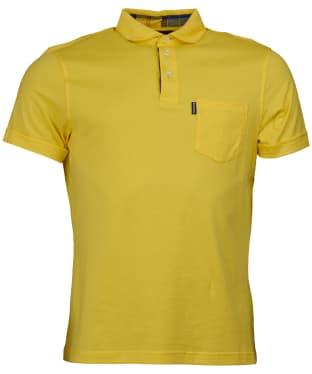 Men's Barbour Brandreth Polo Shirt - Empire Yellow