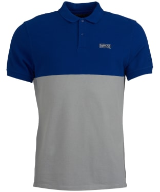 Men's Barbour International Cotter Polo Shirt - Aragon Blue