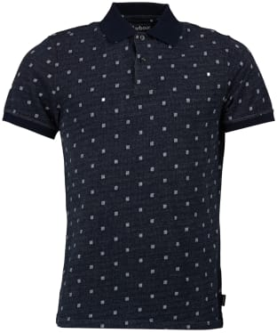 Men's Barbour Thornwaite Polo Shirt - Navy