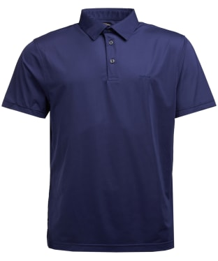 Men's Barbour Performance Polo Shirt - Midnight Blue