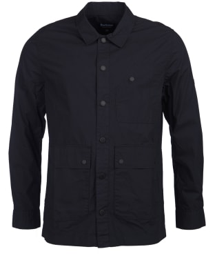 Men's Barbour International Shift Button Thru Overshirt - Navy