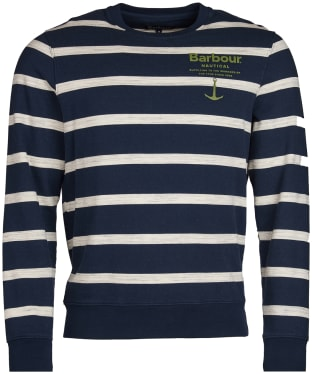 Men's Barbour Offstore Crew Neck Sweatshirt - Navy