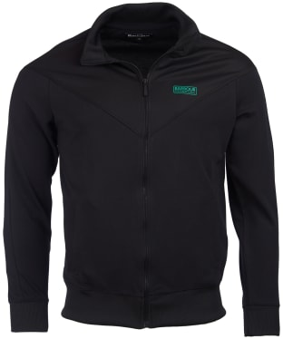 Men's Barbour International Diode Tracksuit Top - Black