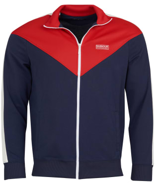 Men's Barbour International Diode Tracksuit Top - Navy