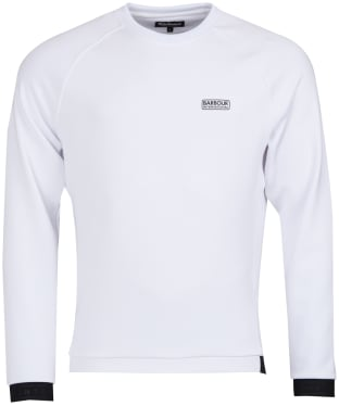 Men's Barbour International Tech Sweatshirt - White
