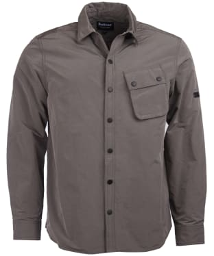 Men's Barbour International Control Overshirt - Grey