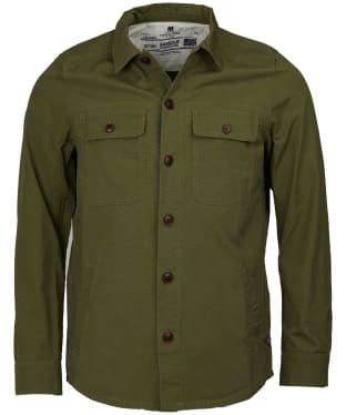 Men's Barbour Steve McQueen Doc Overshirt - Military Olive