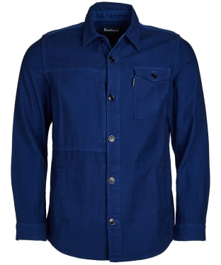 Men's Barbour Seaton Overshirt - Inky Blue