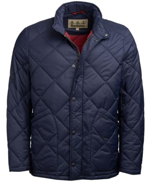 Men's Barbour Kilburn Quilted Jacket - Navy