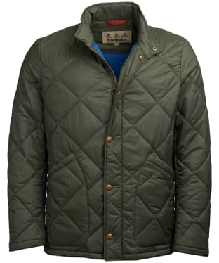 Men's Barbour Kilburn Quilted Jacket - Olive
