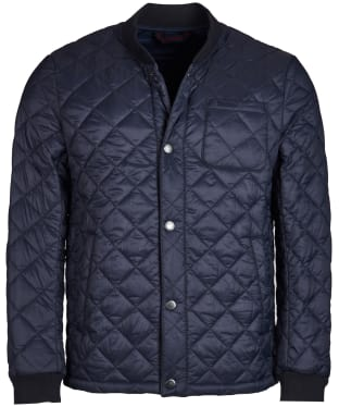 Men's Barbour Levenish Quilted Jacket - Navy