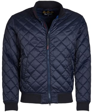 Men's Barbour Blotter Quilted Jacket - Navy