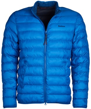 Men's Barbour Nigg Quilted Jacket - Frost Blue