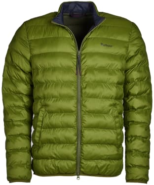 Men's Barbour Nigg Quilted Jacket - Vintage Green