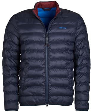 Men's Barbour Nigg Quilted Jacket - Navy