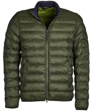 Men's Barbour Nigg Quilted Jacket - Olive