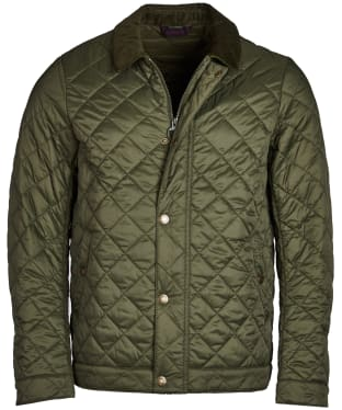 Men's Barbour Cadboll Quilted Jacket - Olive