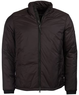 Men's Barbour International Pathside Wadded Jacket - Black
