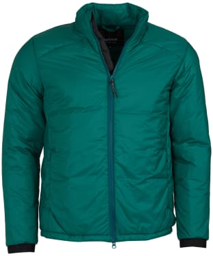 Men's Barbour International Pathside Wadded Jacket - Rich Green