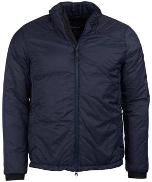 Men's Barbour International Pathside Wadded Jacket - Navy