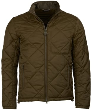 Men's Barbour Steve McQueen Acadia Quilted Jacket - Army Green