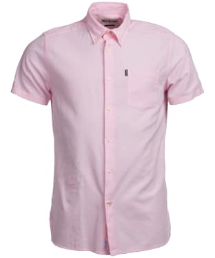 Men's Barbour Oxford 5 S/S Tailored Shirt - Soft Pink