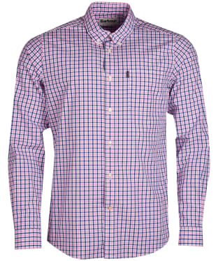 Men's Barbour Gingham 1 Tailored Shirt - Pink