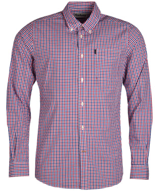 Men's Barbour Gingham 1 Tailored Shirt - Red