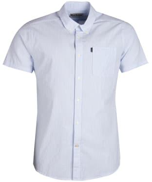 Men's Barbour Seersucker 3 Short Sleeved Tailored Shirt