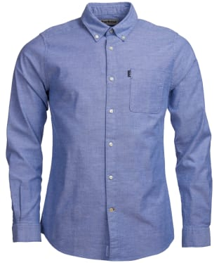 Men's Barbour Oxford 2 Tailored Shirt - Navy