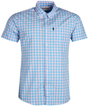 Men's Barbour Gingham 5 Shirt - Pink