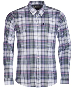 Men's Barbour Oxford Check 2 Tailored Shirt